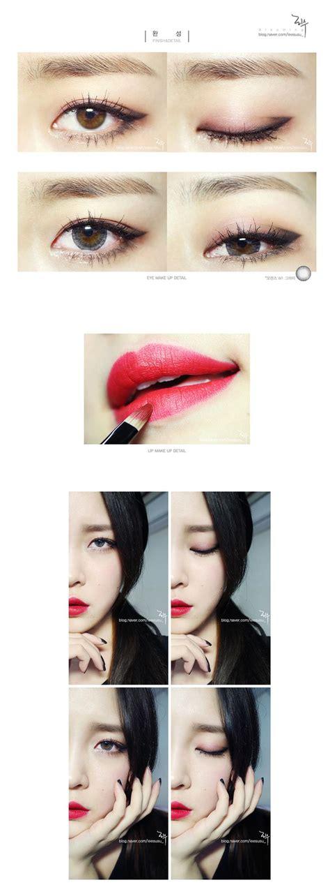 tutorial make up macam korea 17 beste ideer om たれ目メイク つり目 p 229 pinterest つり 目 美人 アイメイク