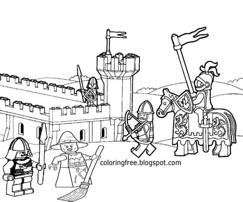 free printable lego castle coloring pages az coloring pages