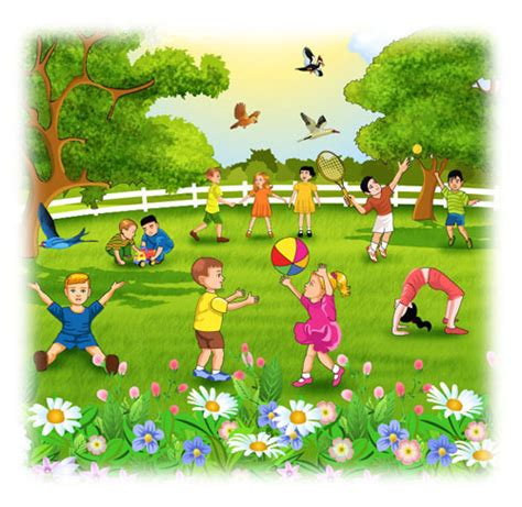 libro the flower childs play every afternoon as they were coming from the children used to go and play in the giant