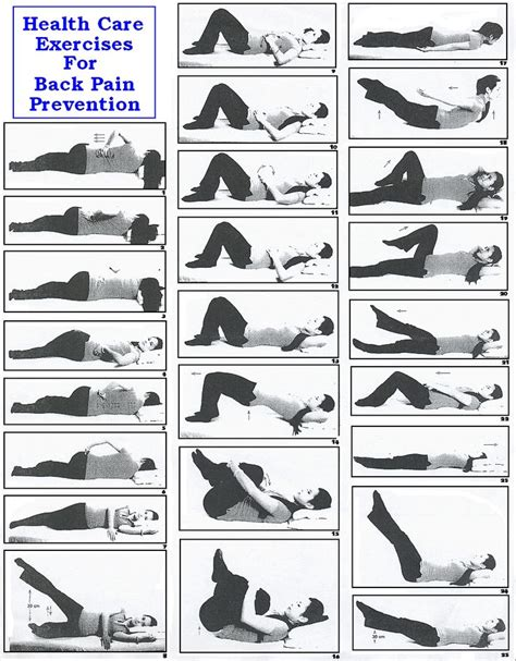 lower back pain in bed 21 best low back pain exercises patient handout images on