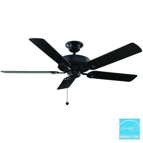 52 farmington ceiling fan farmington 52 in iron ceiling fan 32764 the