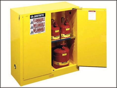 simple requirements to build flammable storage