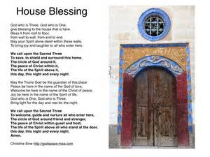 prayer for the season a house blessing godspace