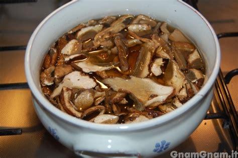funghi secchi a bagno lasagne ai funghi la ricetta di gnam gnam