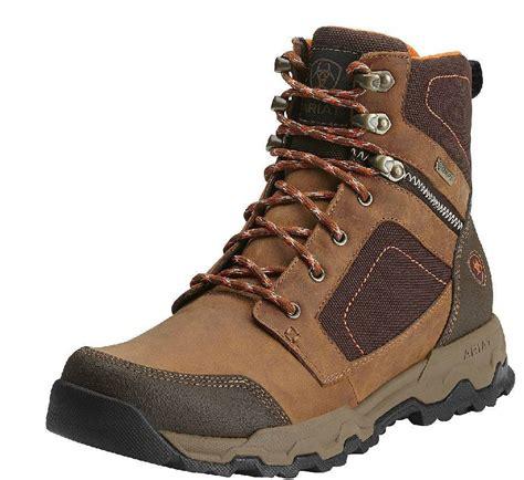 ariat waterproof boots ariat mens grand junction gtx waterproof hiking boots