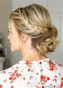 how to do fancy hairstyles for 25 best ideas about formal bun on pinterest wedding