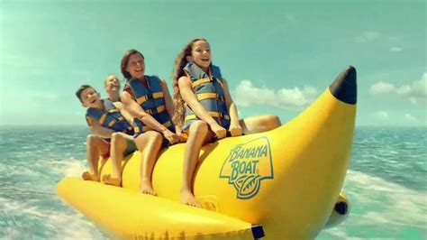 banana boat tv commercial stays on in seven conditions - Banana Boat Ad