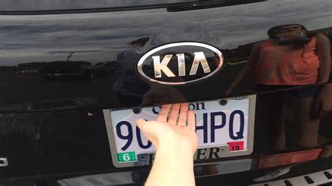 Kia Sedona Rear Door Problems 2015 Kia Sorento Back Hatch Latch Problem Lift Gate