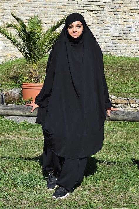 Jilbab Muslim Jilbab Sarouel Black 39 90 Muslim Shop Abayas From