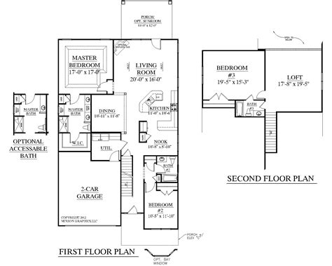 1 1 2 story floor plans southern heritage home designs house plan 2545 c the