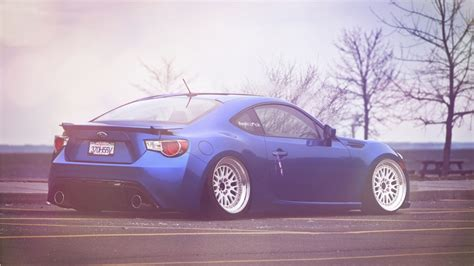 stanced subaru hd stanced subaru brz wallpapers 1366x768 257490