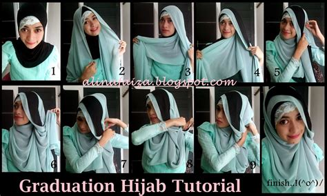 tutorial hijab pashmina graduation blog alina s life love musik beauty healthy movie