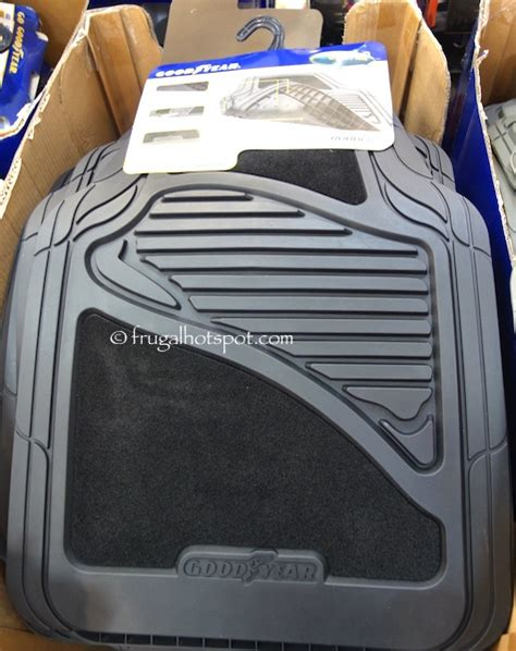 Costco Floor Mat by Costco Sale Goodyear Carpet Rubber Car Floor Mat 4 Pc 13