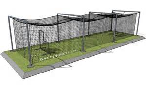 Portable Backyard Batting Cages In Ground Batting Cage Frames Amp Cages For Baseball