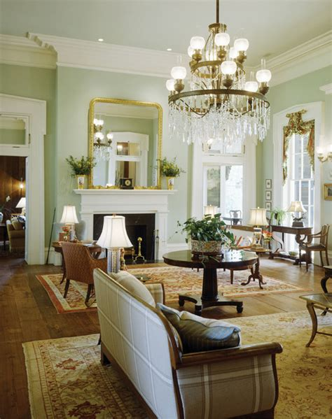 southern style living rooms plantation style southern estate traditional living