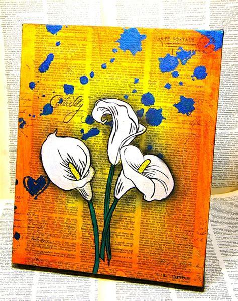 Bilder Malen Ideen by Auf Leinwand Malen 37 Originelle Einfache Ideen Mit