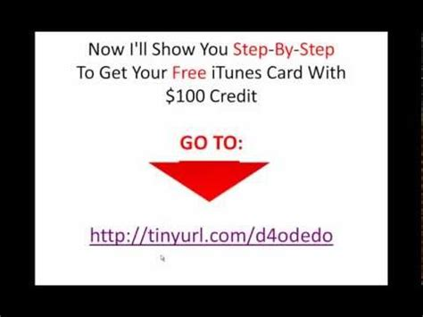 How Can I Get Free Itunes Gift Card Codes - how can i get free itunes gift cards youtube