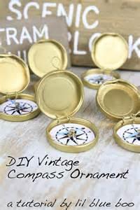 designs for ornaments diy ornament ideas vintage compass