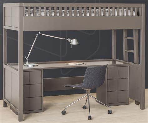 lit mezzanine bureau but lit mezzanine quarr 233 avec bureau rabattable quax marques