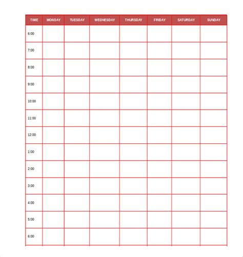 personal planner template daily planner template 29 free word excel pdf