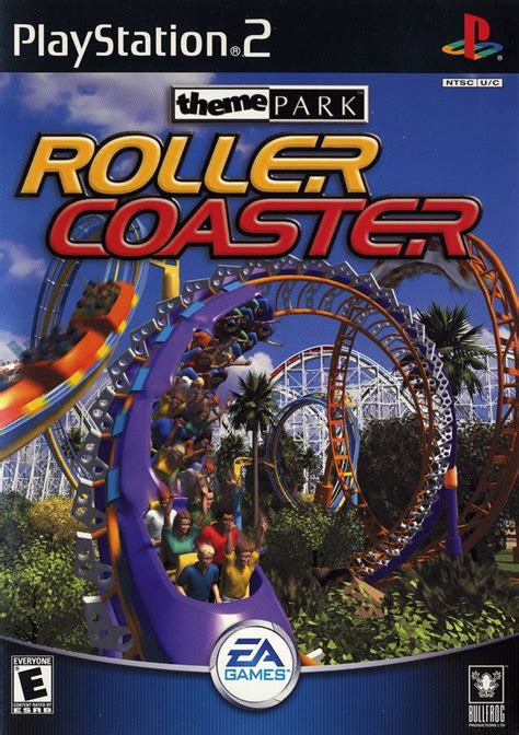 theme park ps3 theme park roller coaster sony playstation 2 game