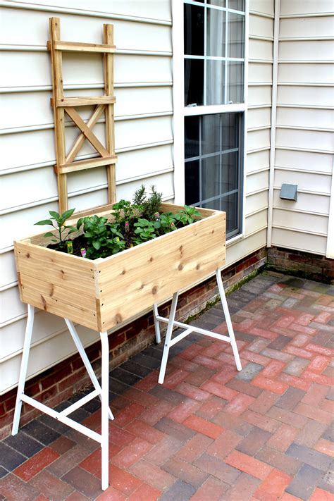 ikea garden bed make this how to build an elevated garden bed tag tibby
