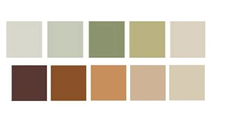 earth tone palette college