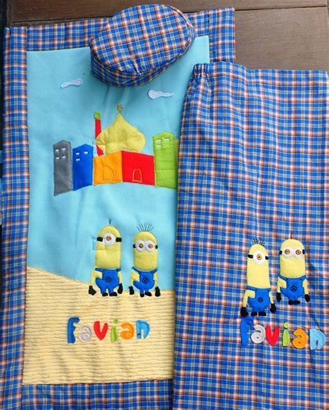 Sarung Minion S detail produk sarung anak set toko bunda