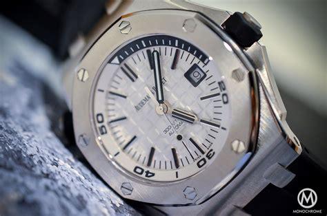 Ap Royal Oak Offshore Diver Steel 2015 15710 Swiss Eta Best Edition sihh 2015 audemars piguet royal oak offshore diver ref 15710 on with live photos