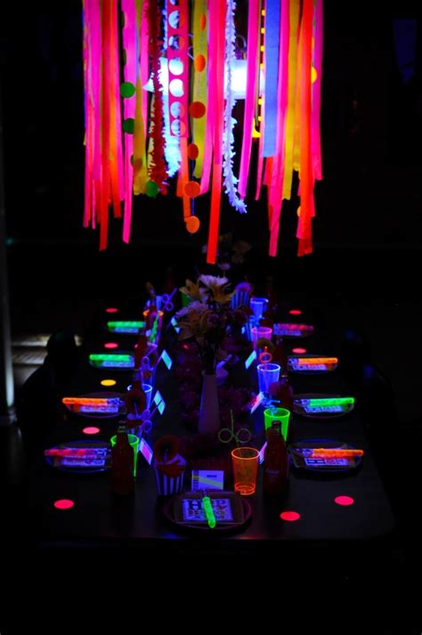 Glow In The Table by 20 Epic Glow In The Ideas Pretty