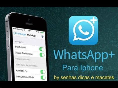 whatsapp  iphone  como ter  whatsapp  mesmo iphone