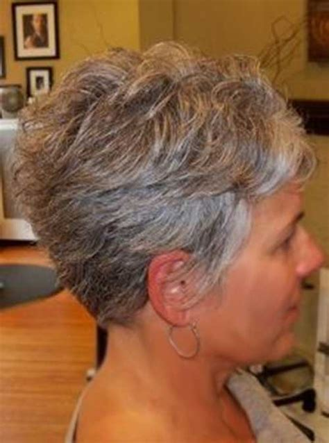 short grey haircuts on pinterest short grey hair older short natural gray hair short hairstyle 2013