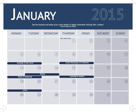 education calendar template calendar template 25 free word pdf psd