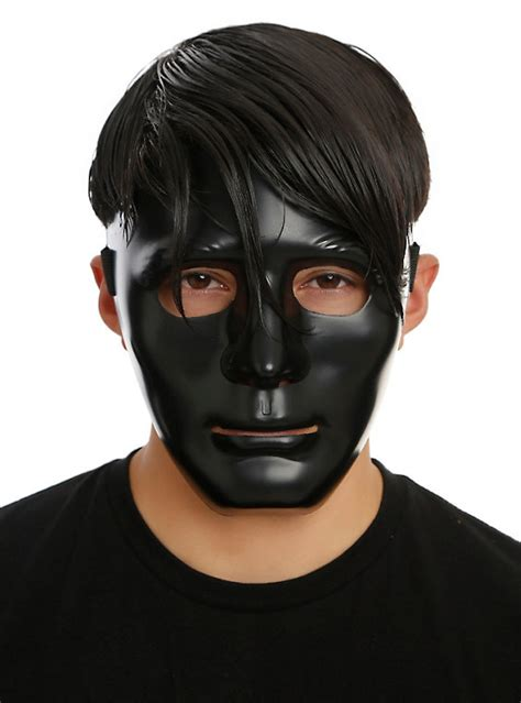 black mask black mask hot topic