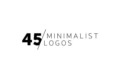 logo design quote exle 45 minimalist logos logo templates on creative market