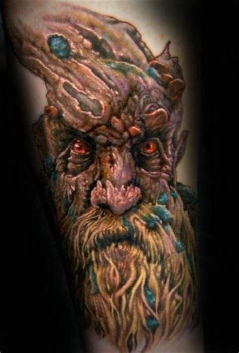 old tree tattoo tree trees lotr