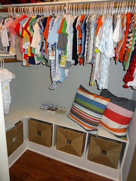 bench in closet a nice idea for inside a closet put storage bench in the