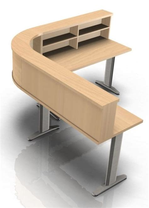 Corner Reception Desk Kompass Corner Reception Desk With T Legs Reality