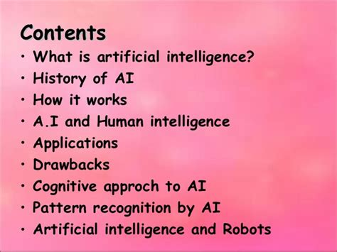 pattern recognition in ai ppt best presentation artitficial intelligence