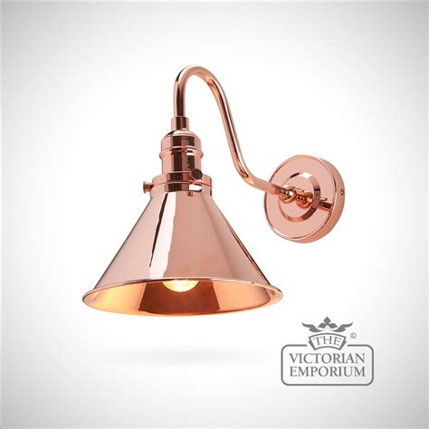 vintage copper wall lights provence wall light in polished copper interior wall lights