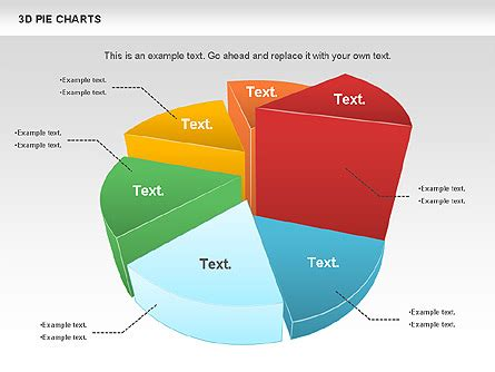 3d diagram maker 3d pie chart for presentations in powerpoint and keynote