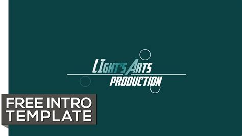 free animated intro templates free vegas 14 pro intro template logo title animation