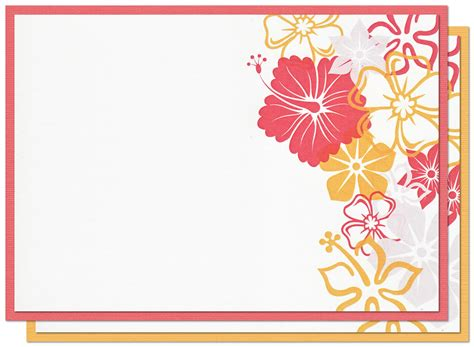 Card Decoration Templates by Design Blank Invitation Cards Beautiful Ideas