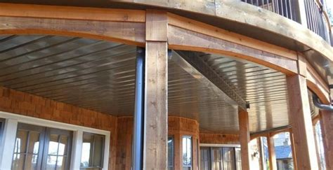 deck ceiling watershed underdeck ceiling system deck patio ceilings decking and deck patio
