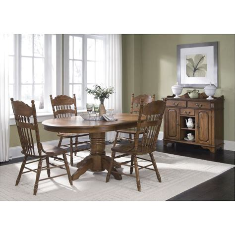old world pedestal dining table dining room furniture 18 t560 liberty furniture old world dining room pedestal table