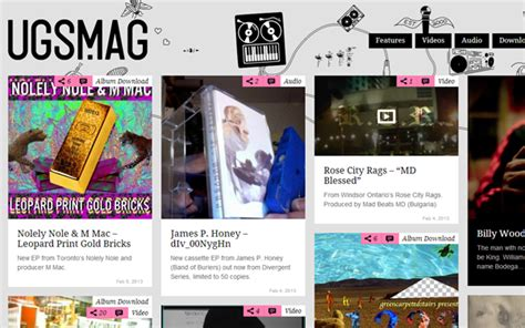 magazine layout blog 40 magazine style blog layouts for design inspiration