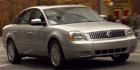mercury montego page  review  car connection