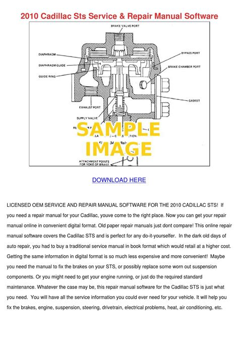 online service manuals 2010 cadillac sts on board diagnostic system 2010 cadillac sts service repair manual softw by krystaljameson issuu