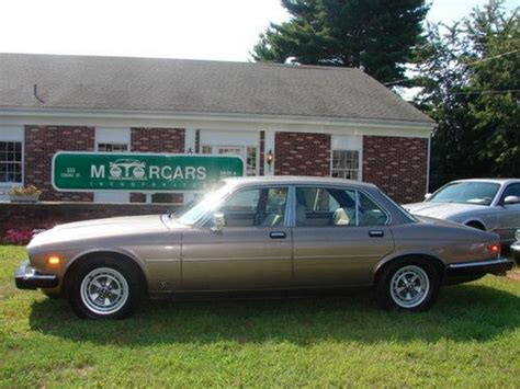 sell used 1985 jaguar xj6 vanden plas siii sedan