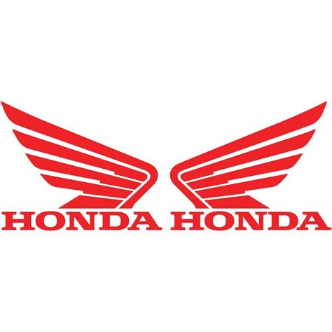Stiker Sticker Logo Honda 2 honda wing logo vinyl decal car truck window sticker